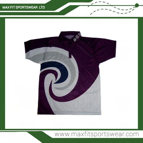Cheap Custom Short Sleeve Sublimated Printed Shirt Work Polo Shirt